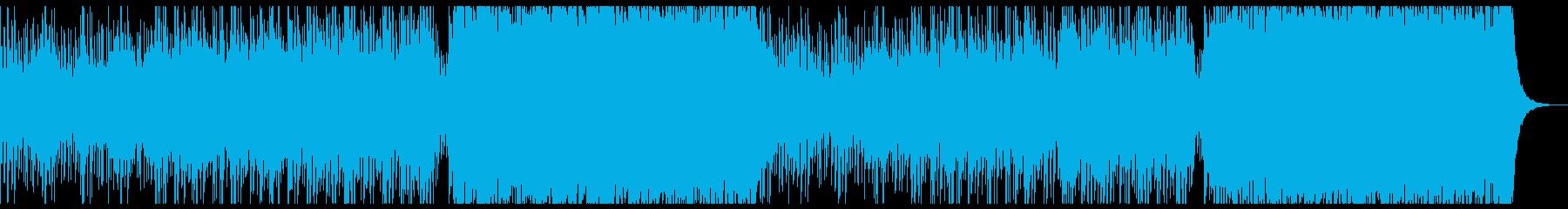 80's retro synthpopの再生済みの波形