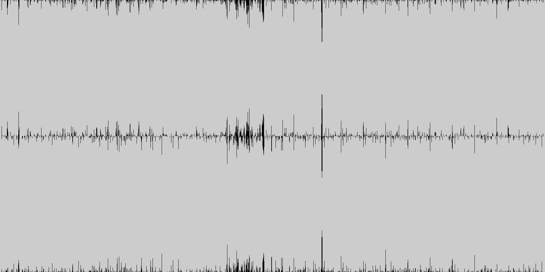 ループ■劇的でサイバーなアートコアの未再生の波形
