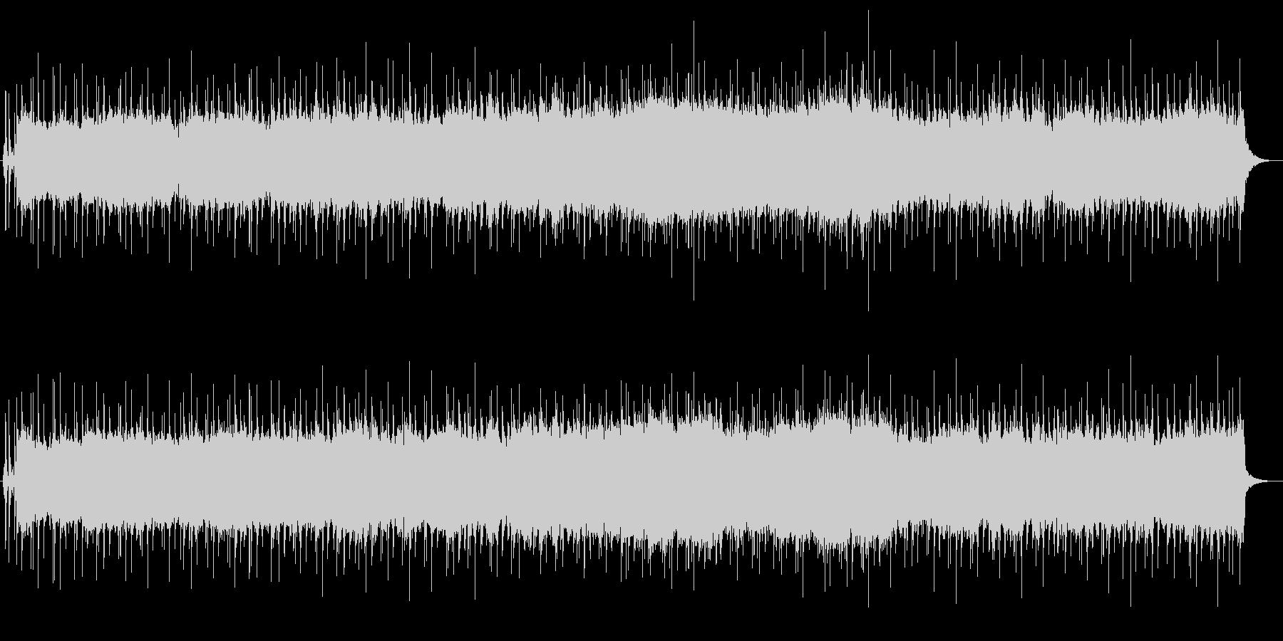 優しいシンセとシャッフルビートの未再生の波形