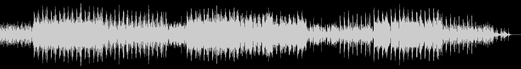 東洋的なエレクトロROCKの未再生の波形