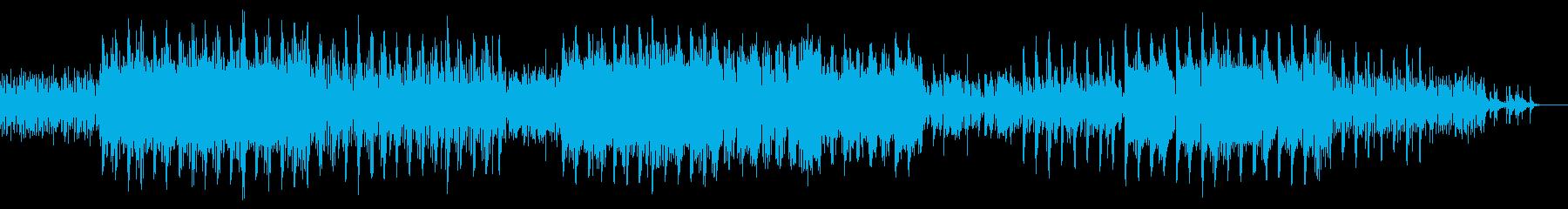 東洋的なエレクトロROCKの再生済みの波形