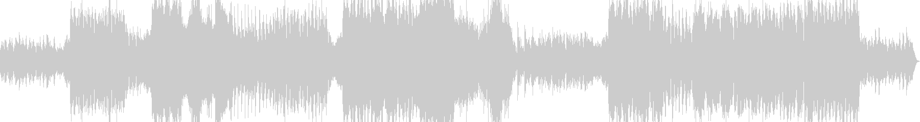 ホラーゴシック系のワルツの未再生の波形