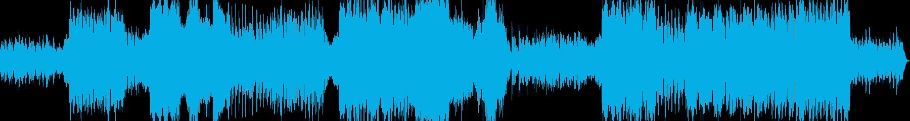 ホラーゴシック系のワルツの再生済みの波形