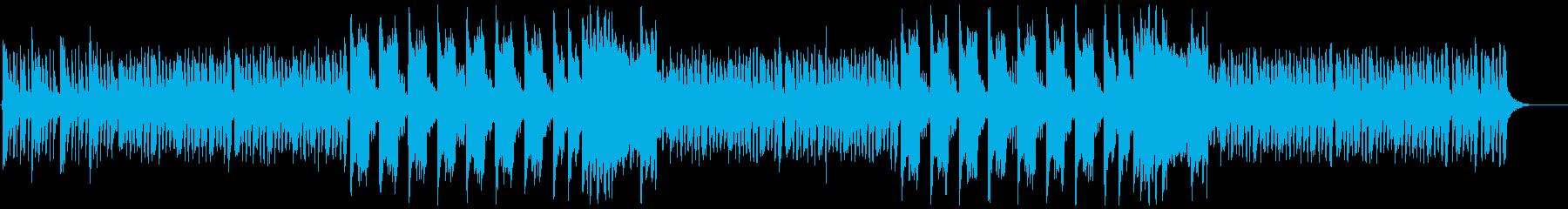 ポップで可愛い&怪しげなハロウィン曲の再生済みの波形