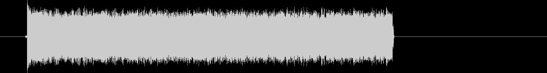 ピピピが連続する音の未再生の波形