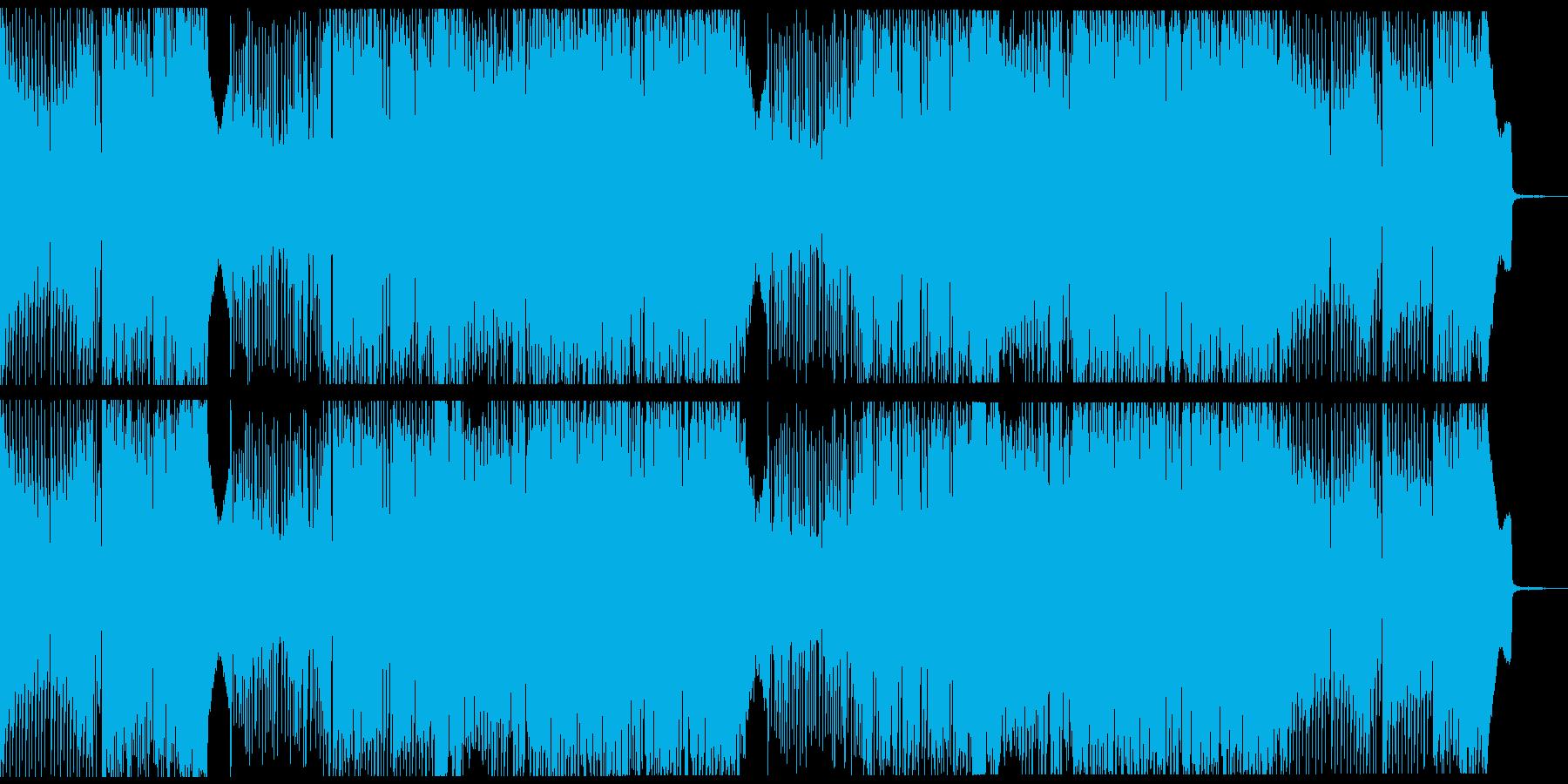 アラビアンなEDMの再生済みの波形