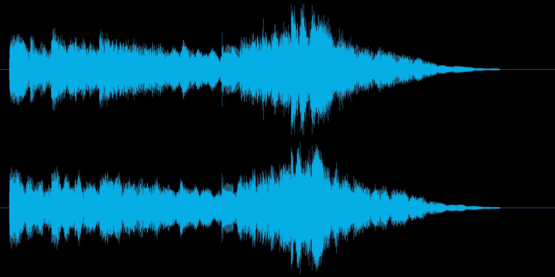 ほのぼのとしたエレピサウンドの再生済みの波形