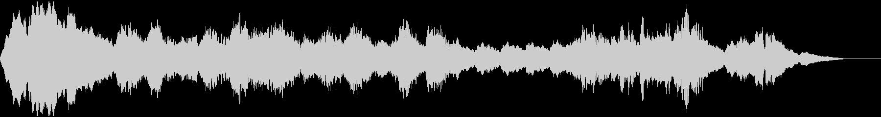 ホラーダークなアンビエントの未再生の波形