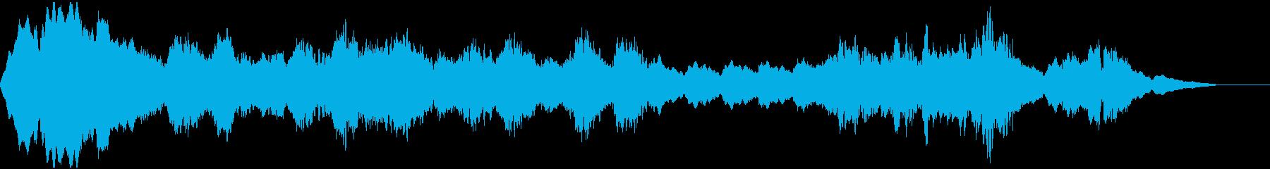 ホラーダークなアンビエントの再生済みの波形