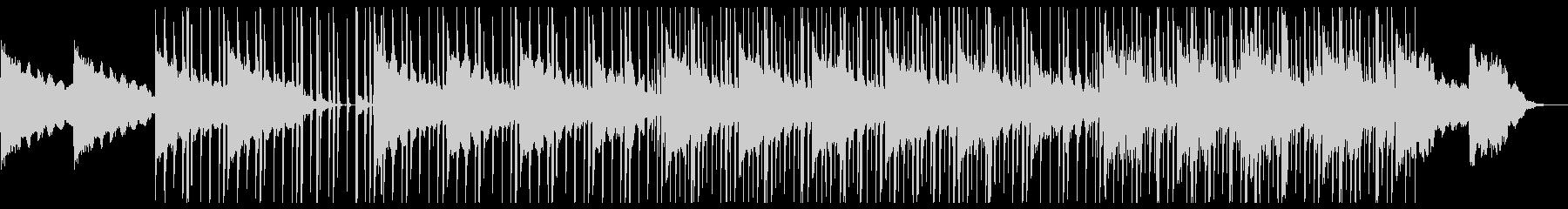ジャジーでクールなエレクトテクノの未再生の波形