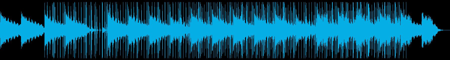 ジャジーでクールなエレクトテクノの再生済みの波形