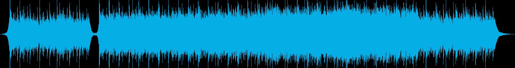 現代の交響曲 劇的な 素晴らしい ...の再生済みの波形