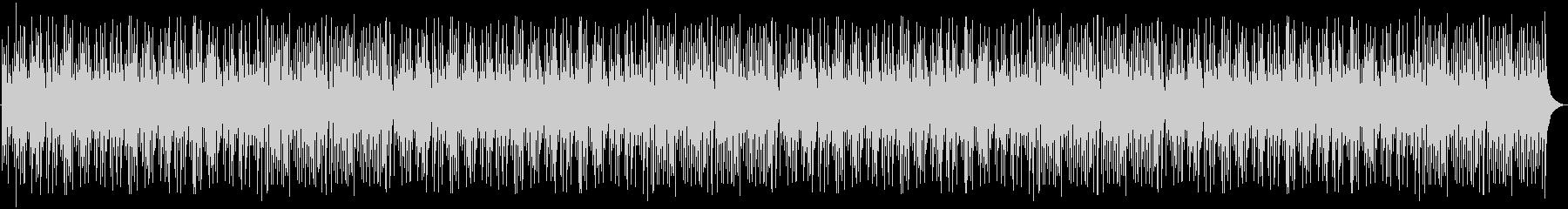 和風のリラックスBGMの未再生の波形