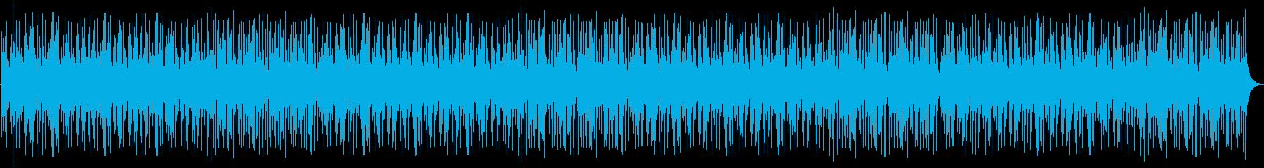 和風のリラックスBGMの再生済みの波形
