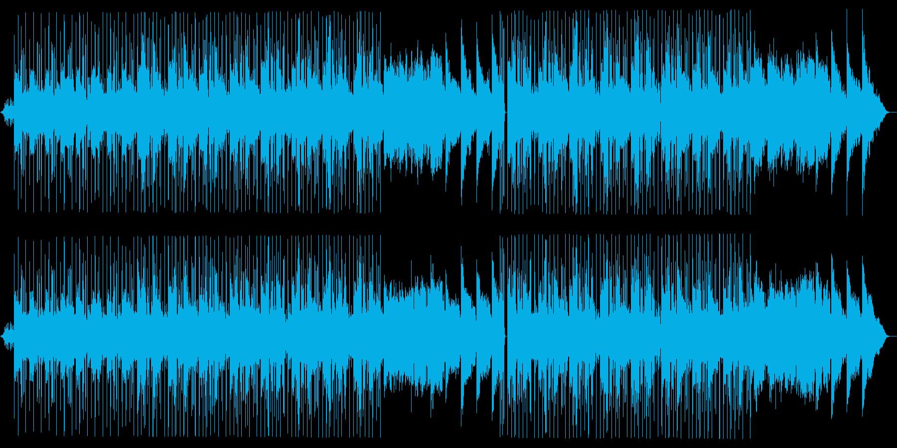 優しくおしゃれなLo-fi HipHopの再生済みの波形