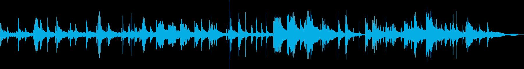 ヒーリングピアノ組曲 ただよう 3の再生済みの波形