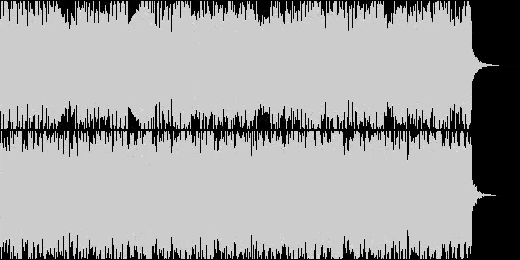 ダークで不気味で奇妙なアンビエントの未再生の波形