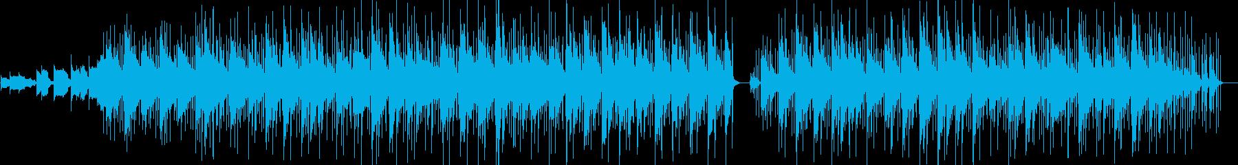 電子、ループ、リバース。サスペンスの再生済みの波形