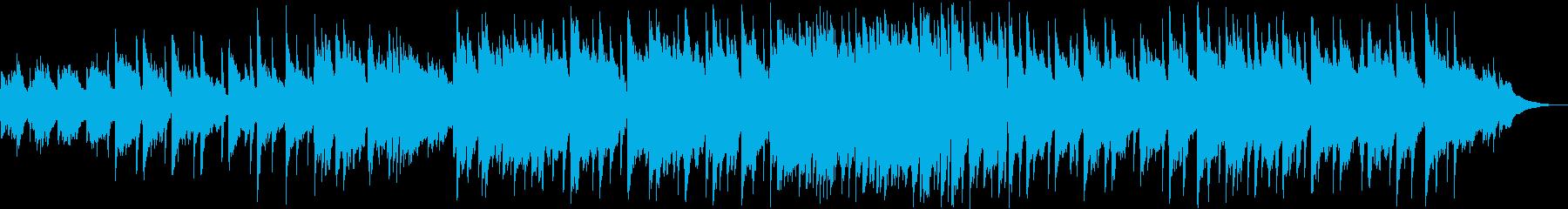 アコギとピアノ・静かでゆったりの再生済みの波形