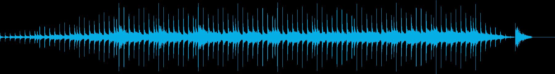 ピアノコードループ、不協和音の再生済みの波形