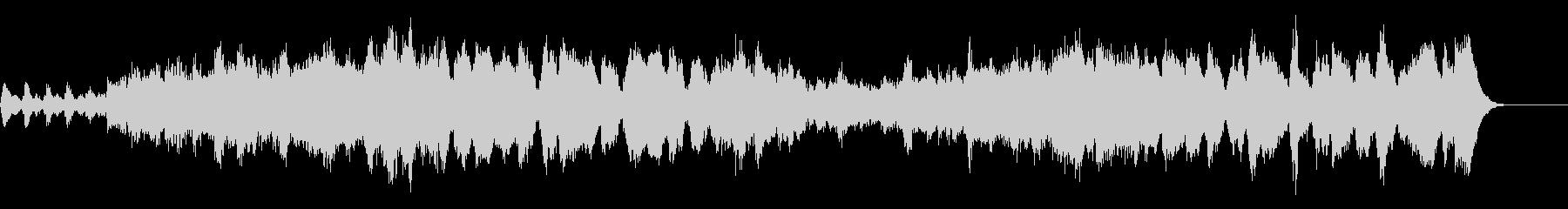 チャイコフスキーの明るく軽快な曲27秒の未再生の波形