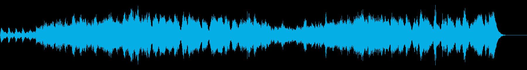 チャイコフスキーの明るく軽快な曲27秒の再生済みの波形