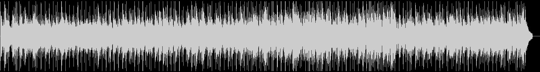 ほのぼのとしたカントリーワルツの未再生の波形