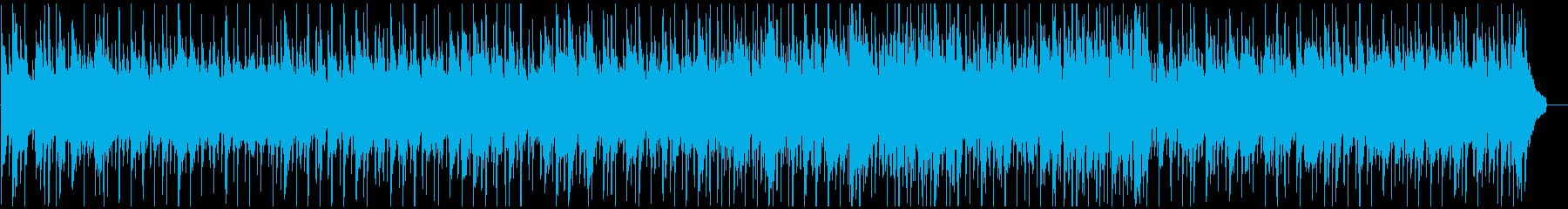 ほのぼのとしたカントリーワルツの再生済みの波形