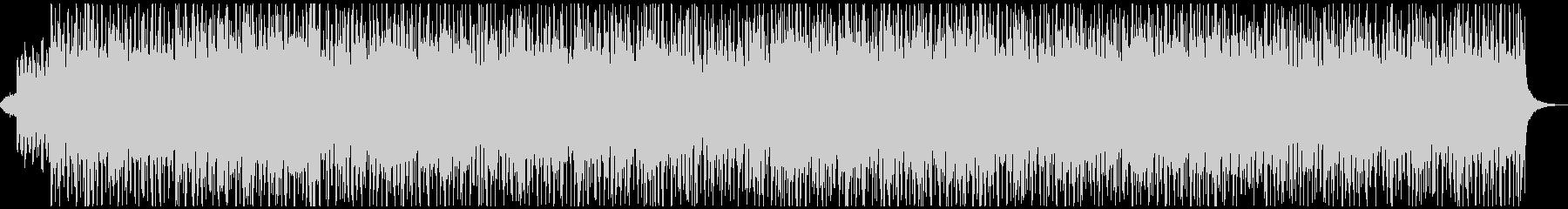 ジャジーなピアノとシンセのスイングの未再生の波形