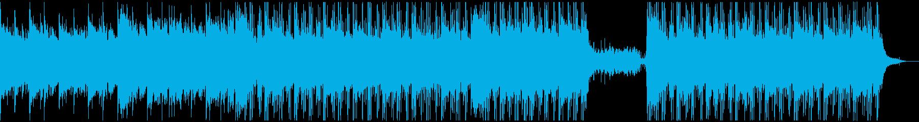 お酒のある風景Lo-Fi HIPHOPの再生済みの波形