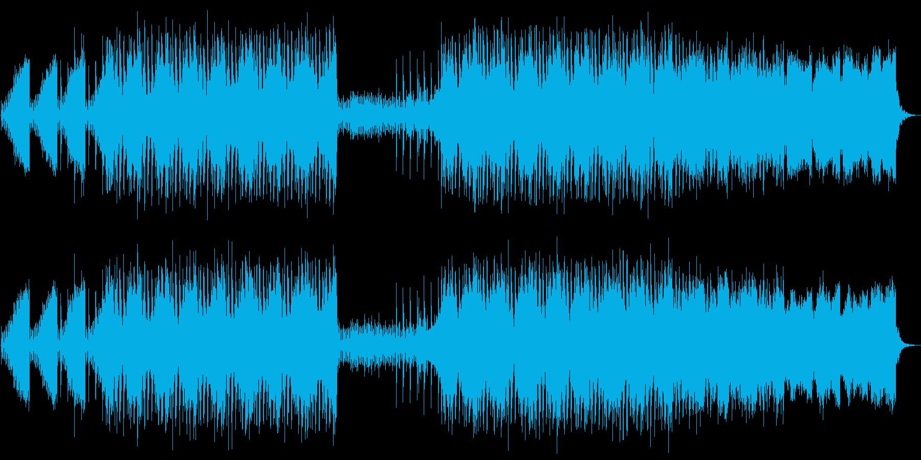 きれいめで近未来的なエレクトロの再生済みの波形