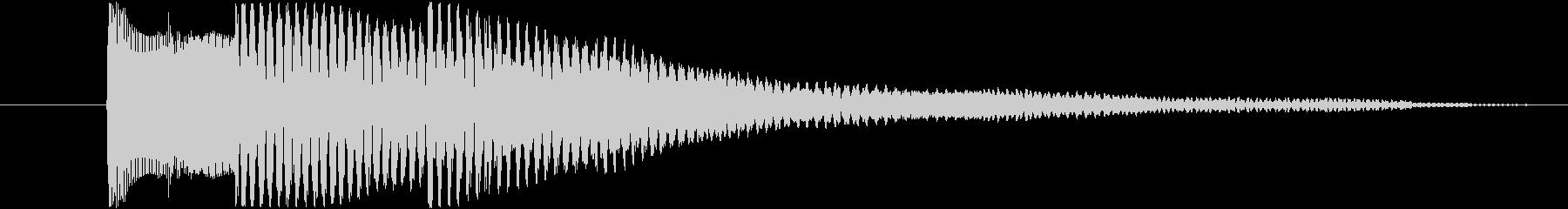 三連符の上昇音/正解◯/決定 場面転換の未再生の波形