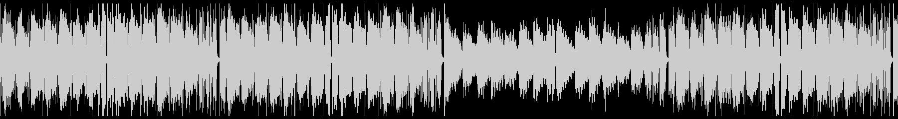 ループ/夜更かしlo-fi曲002の未再生の波形
