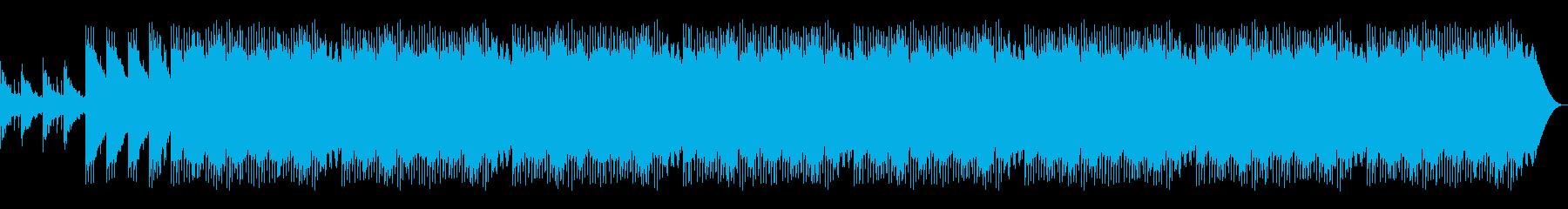 オシャレなLoFiの再生済みの波形