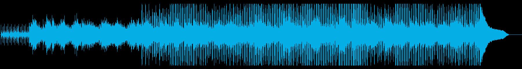落ち着いたビジネス系コーポレート・90秒の再生済みの波形