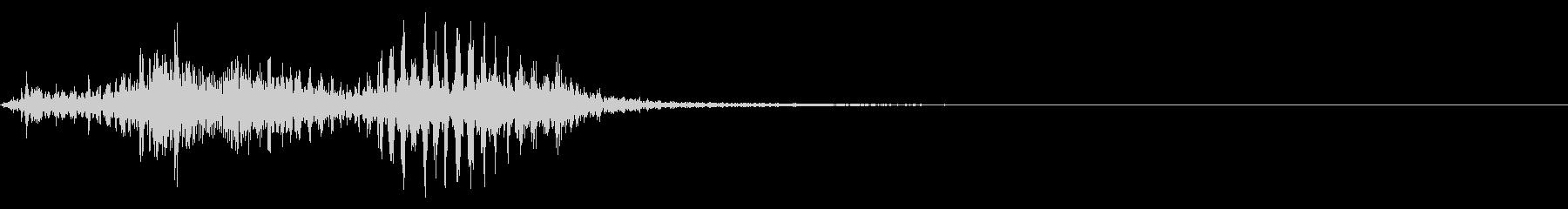 【生録音】フラミンゴの鳴き声 37の未再生の波形