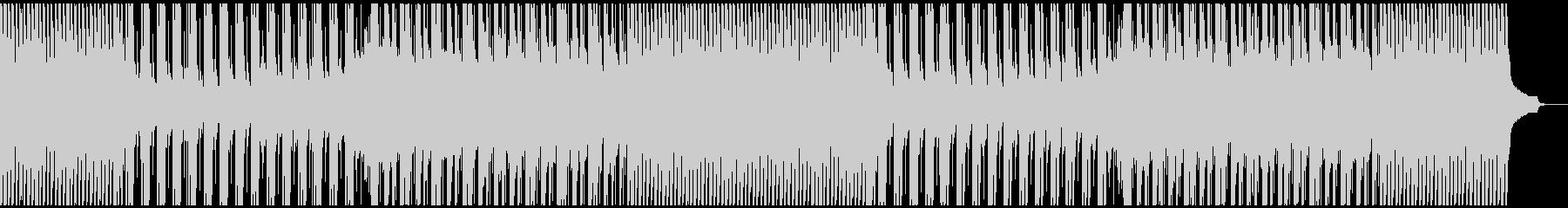 アップテンポでモチベーションが上がる曲の未再生の波形