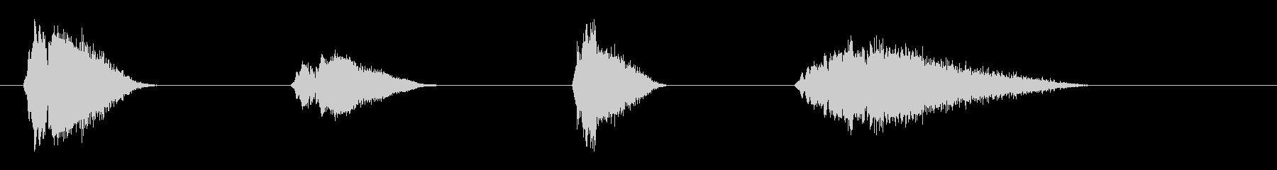 ファニーヒット+ホイッスル-ロング...の未再生の波形