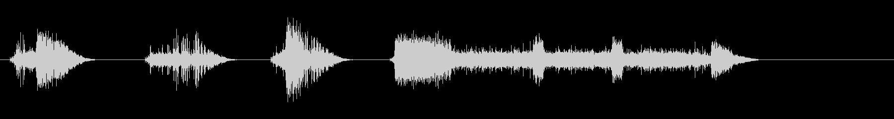 セイバーブロークン;オン、ストレイ...の未再生の波形