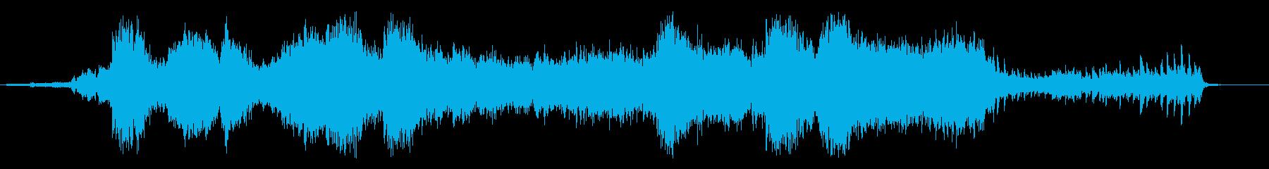 ホラーアンビエントの再生済みの波形