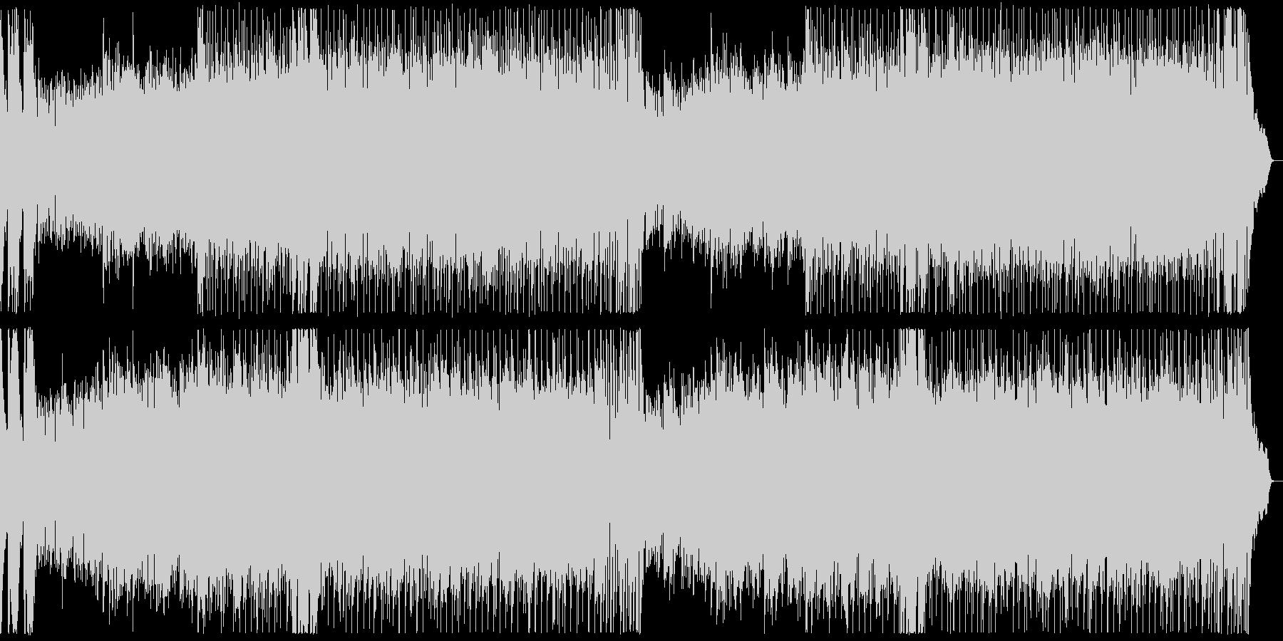 エスニック・ガムラン風の曲の未再生の波形