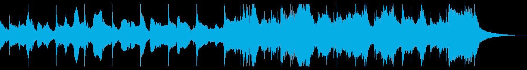 ほのぼのCMや転換ジングルの再生済みの波形