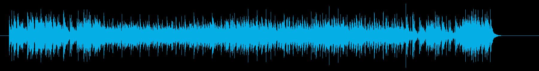 オールマイティーなオープニング・テーマの再生済みの波形
