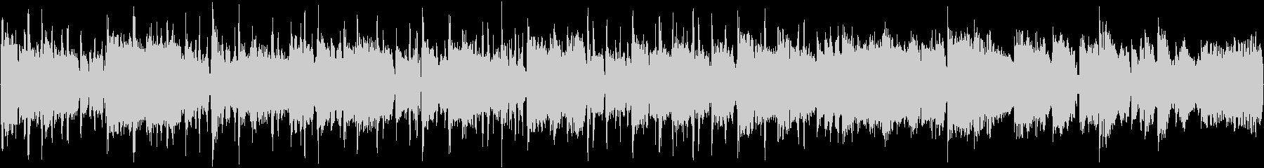 80bpm、E-Maj、ブルース調の未再生の波形
