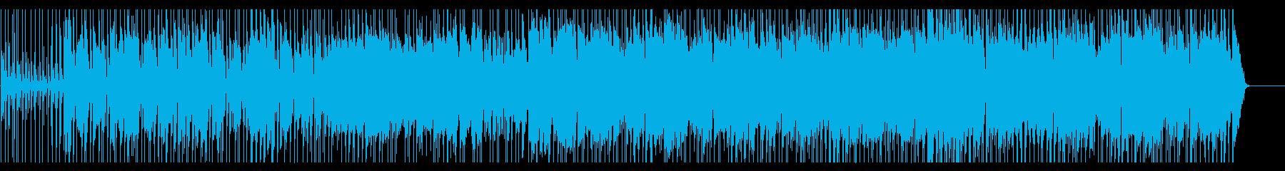 鍵盤ハーモニカの軽快で楽しいポップスの再生済みの波形