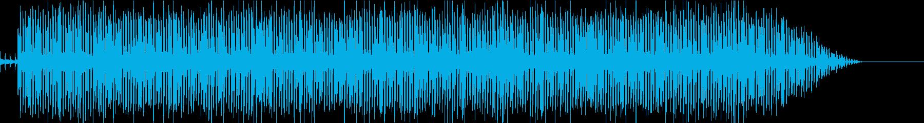 8bit風 おちゃめ 元気 猫ふんじゃっの再生済みの波形