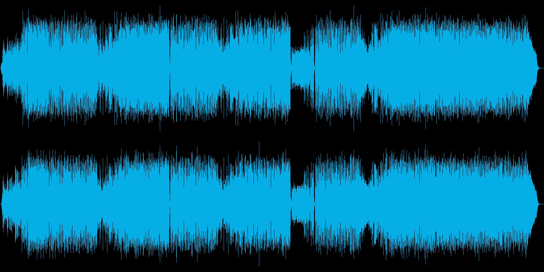 カフェミュージック:アコーディオンジャズの再生済みの波形