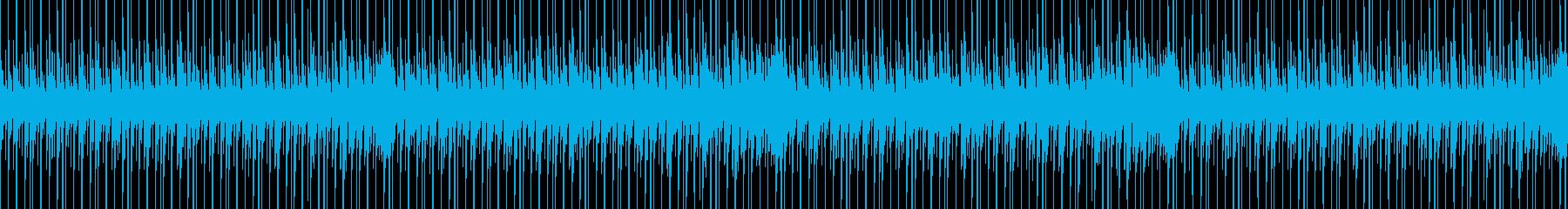 ジャジーブルース、60年代の風味、...の再生済みの波形
