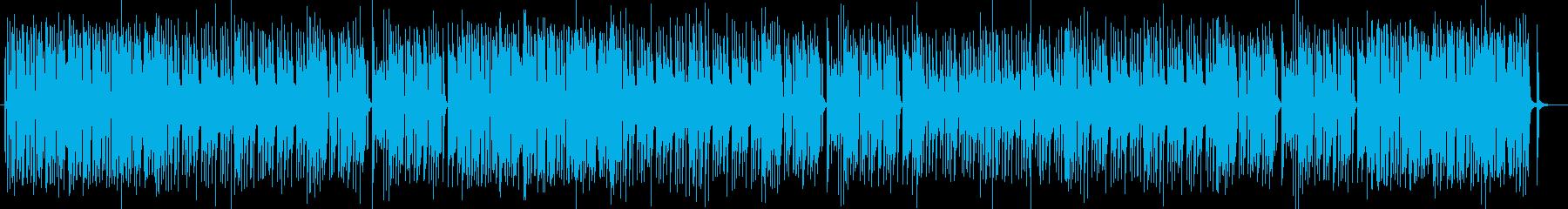 ノリの良いトランペットポップスの再生済みの波形