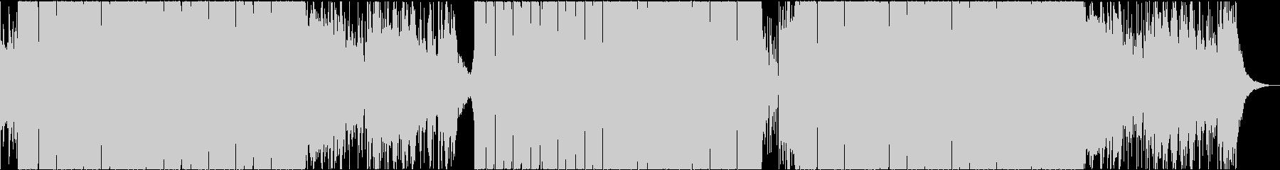 和風 テクノ 日本 ダンス 太鼓 の未再生の波形